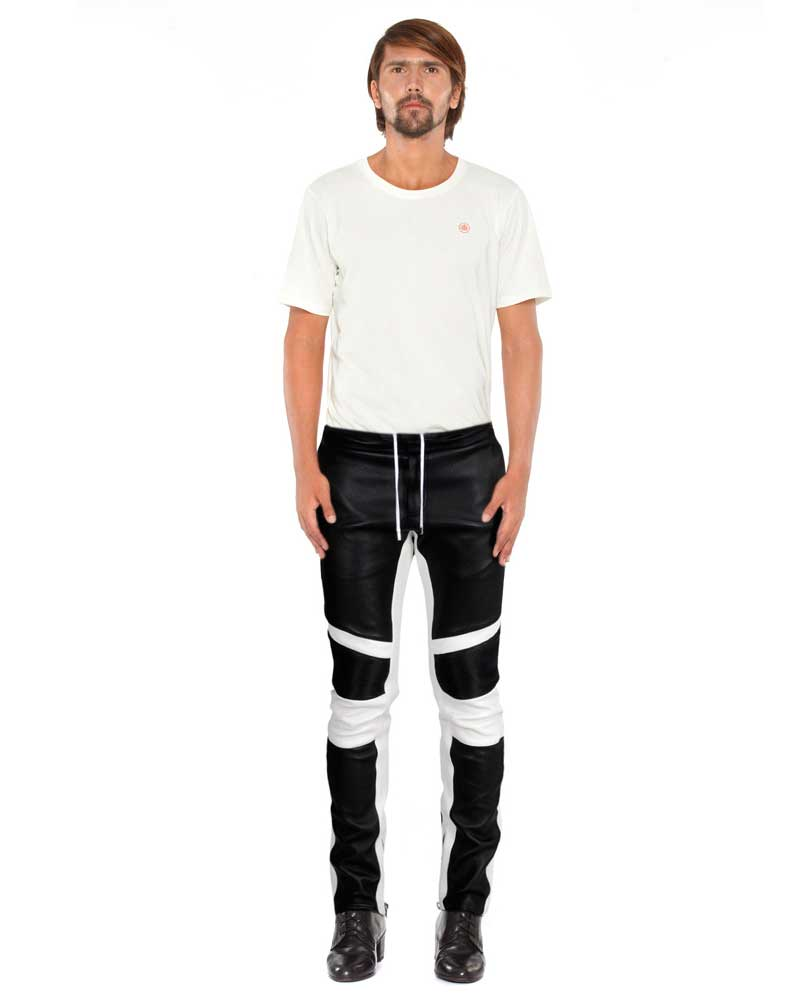 EATHER-TROUSER-WITH-RIBBED-CONTRAST-PANEL-full-3