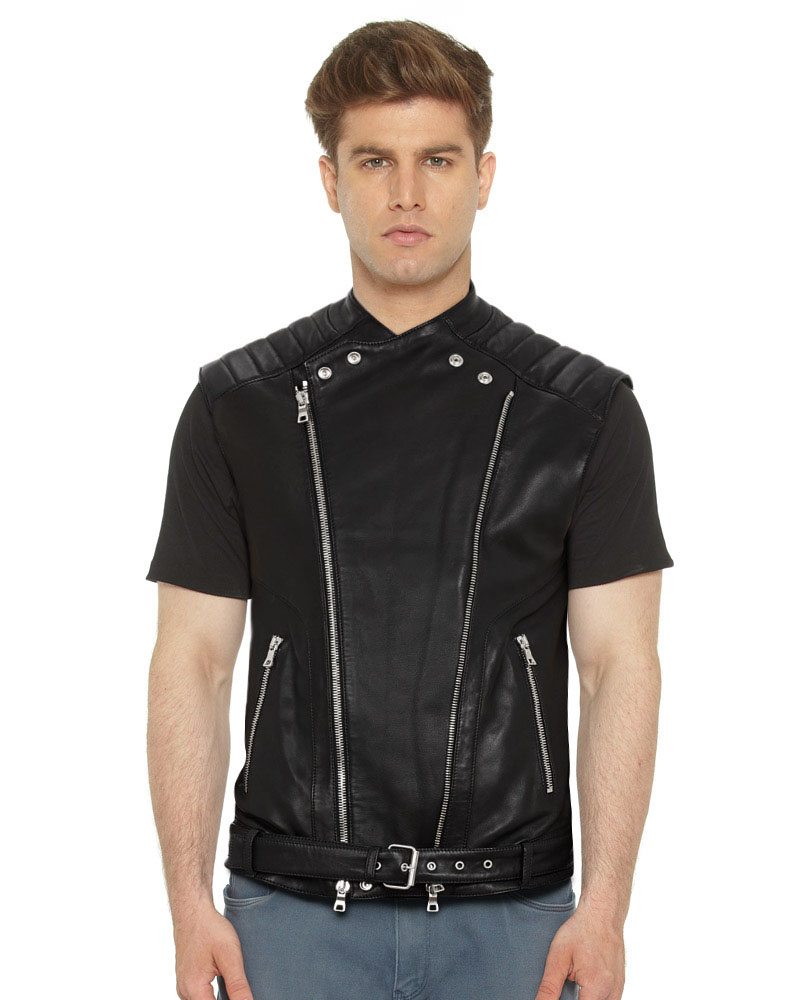 BLACK-LEATHER-MOTO-VEST-WITH-QUILTED-PANELS-front-3