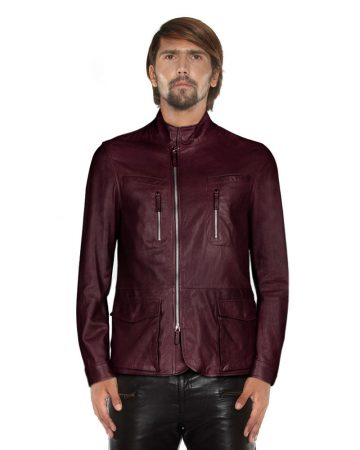LAMB-LEATHER-JACKET-WITH-TURTLENECK-COLLAR-front-1