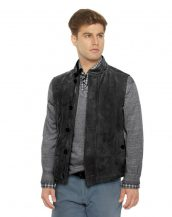 Quilted-suede-vest-with-stand-collar-front-e1450336623539-3