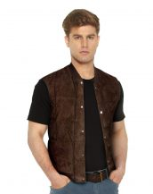 SUEDE-VEST-WITH-RIBBED-COLLAR-front-3