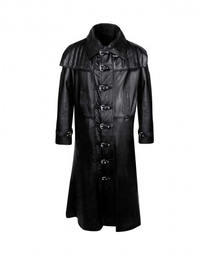 BLACK-LEATHER-GOTHIC-TRENCHCOAT-WITH-GUN-FLAP-e1444388211791-1