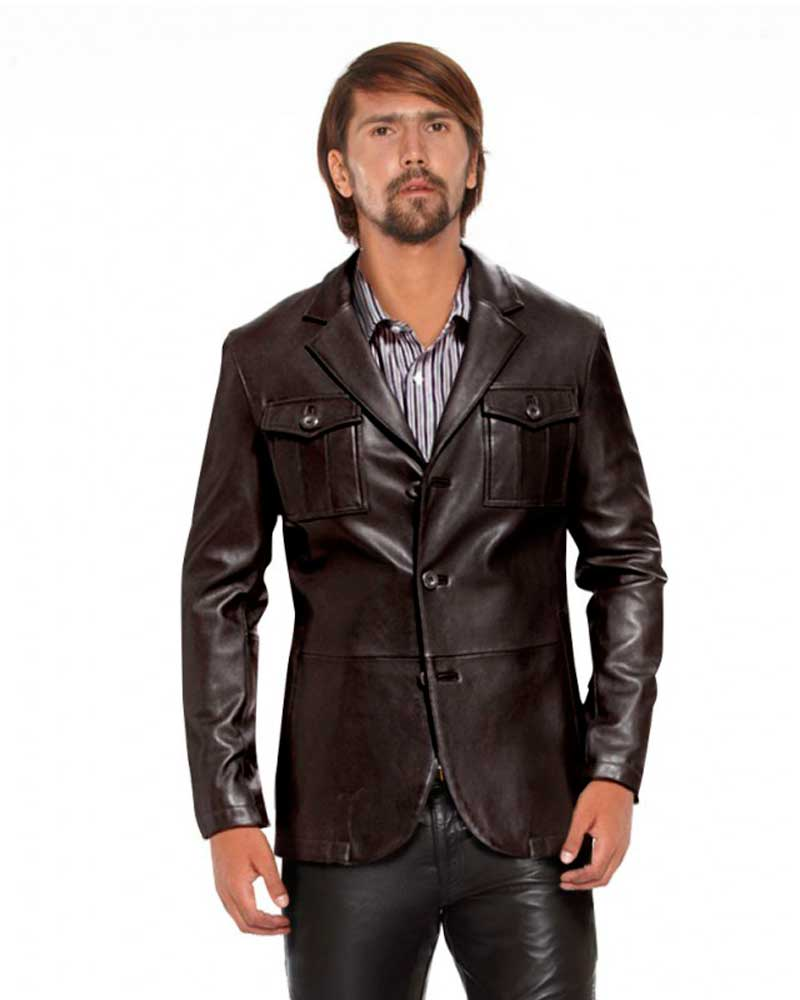 SLIM-FIT-LEATHER-BLAZER-WITH-FLAP-PATCH-POCKETS_front_-half_1-e1445231374590-1