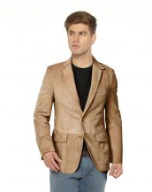 SLIM-FIT-THREE-BUTTONED-SUEDE-BLAZER-WITH-PATCH-POCKETS_-front_3-e1445234488618-1