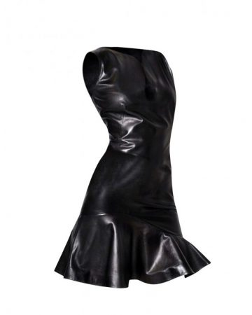 Women-Flared-Leather-Dress-front-e1444627011757-1