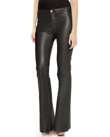BLACK-HIGH-WAIST-FLARED-LEATHER-PANTS_front-e1450173589203-1
