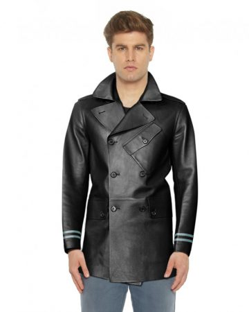 DOUBLE-BREASTED-LAM-LEATHER-COAT-WITH-STRIPED-CUFFSUNDERCOLLAR-front_2-e1449037840734-1