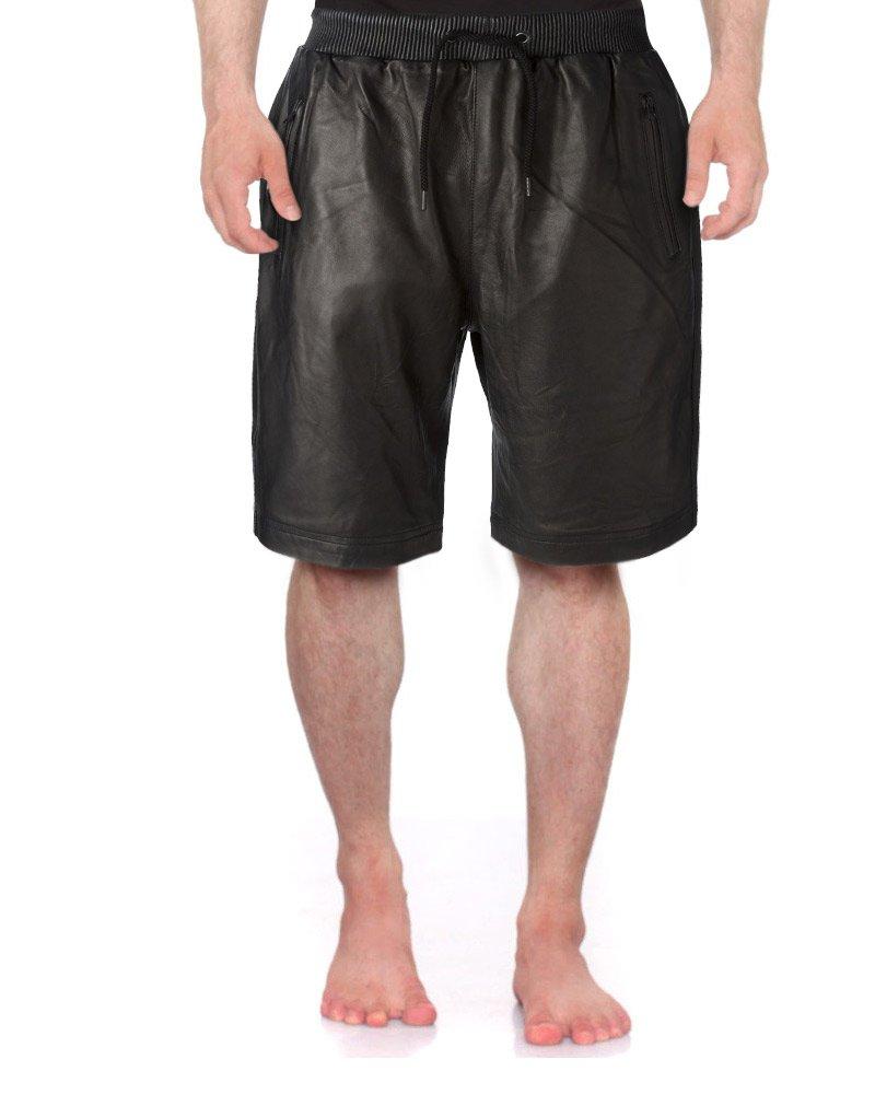 Classy Black Bermuda Style Shorts for Men 1