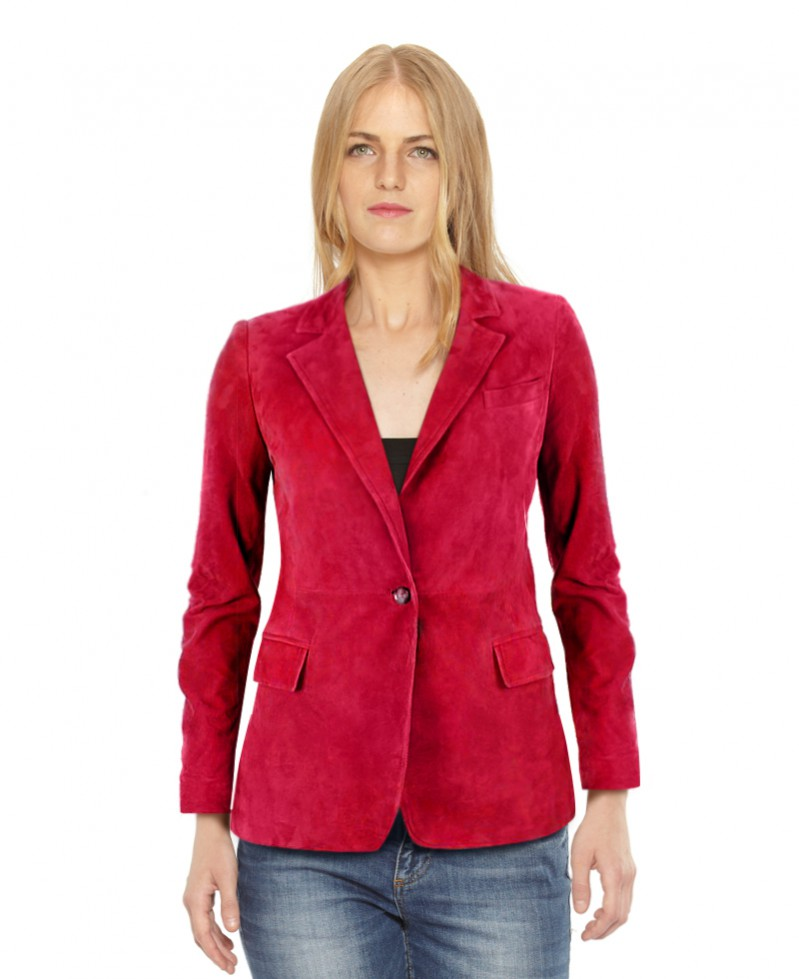 Womens Single Buttoned Blazer with Single Vent 1