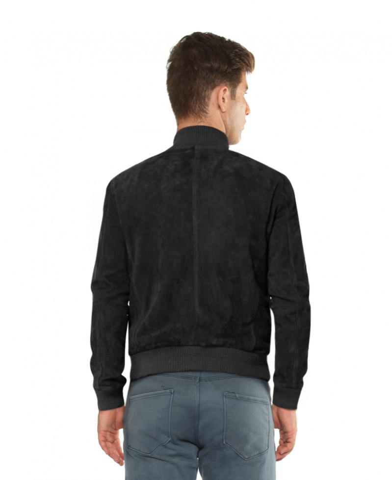 Mens Suede Bomber Style Jackets Online - LeatherRight