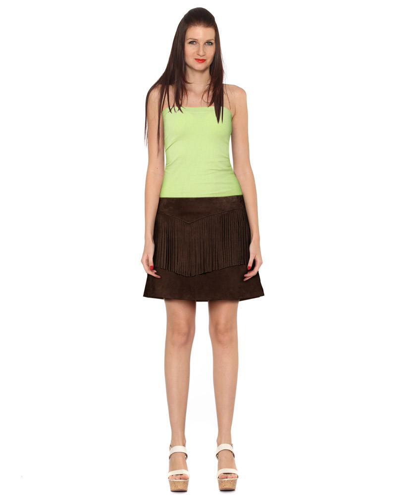 Fringe Suede Skirts for Women at LeatherRight