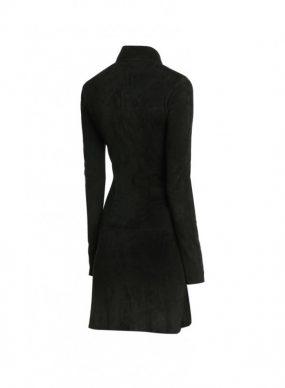 Halloween Suede Shirt Dress with Zip Fastening