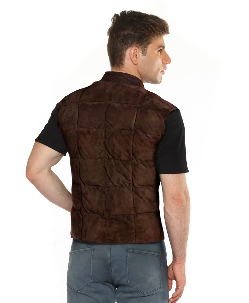 Quilted Vest Mens Online at LeatherRight